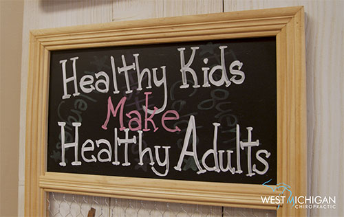 Healthy kids make healthy adults with chiropractic care in West Michigan